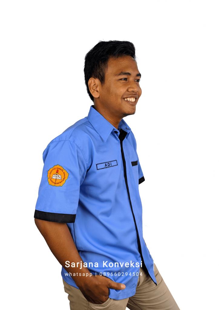desain baju PDH mahasiswa